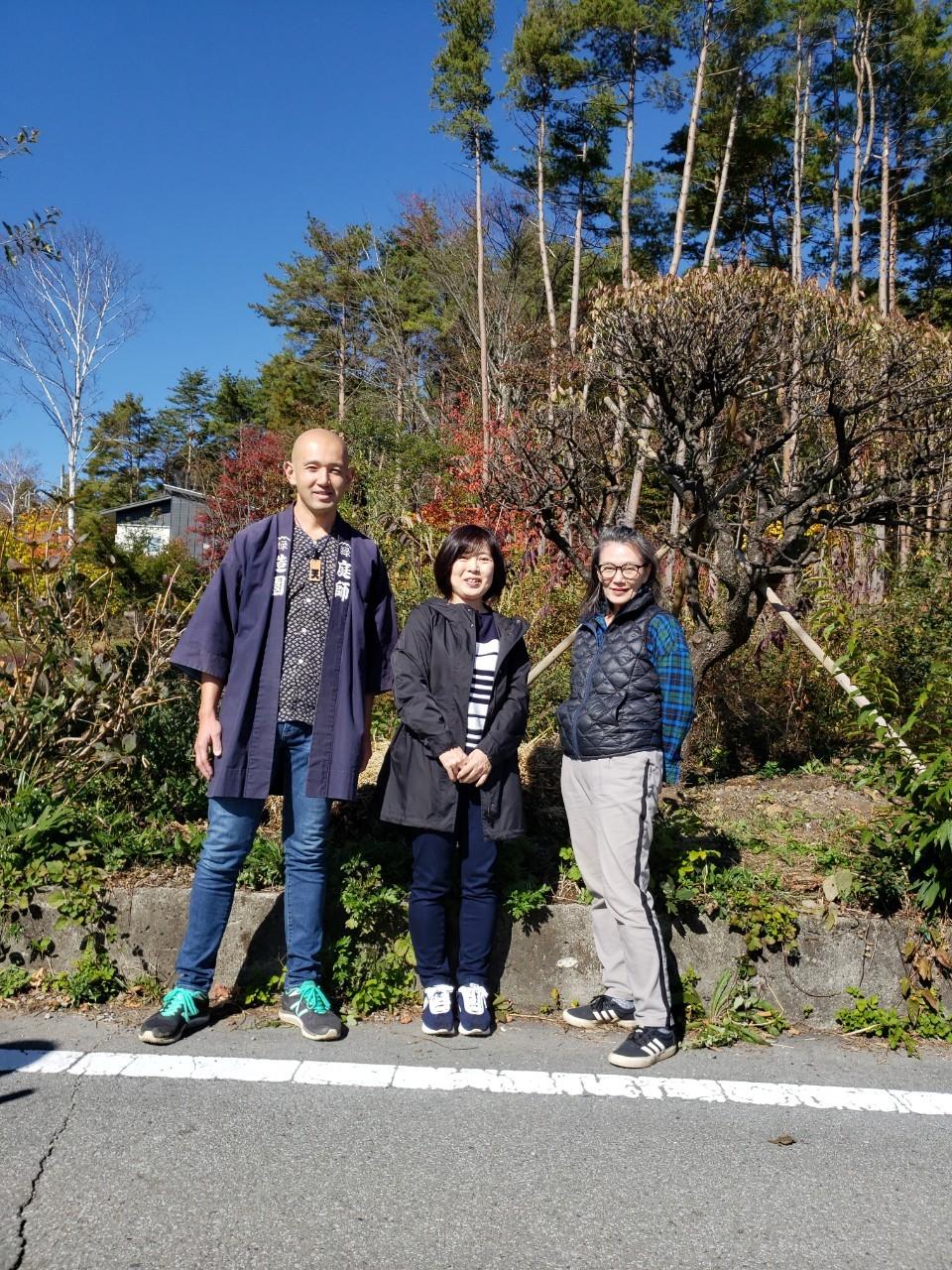 梅の木と再開!~横浜から八ヶ岳高原へ~